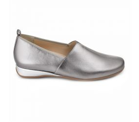 Hassia - Petra Silver Leather Slip On