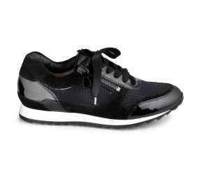 Hassia - Barcelona Black Patent Sport