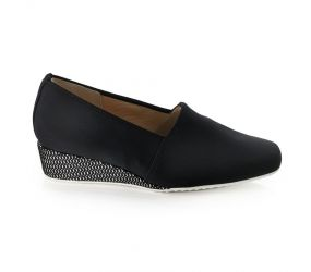Hassia - Jesolo Black Stretch Slip On
