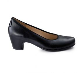 Hassia - Paris Black Leather Pump