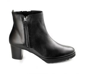 Hassia - Turin Black Leather Boot