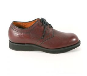 Alden - Contoured Depth Inlay Plain Toe - Burgundy