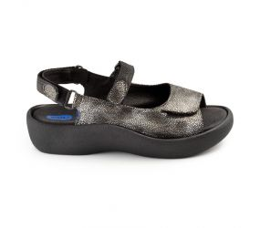 Wolky - Jewel Black Caviar Leather