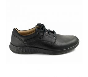 Jomos - Campus Black Leather Lace - X-Wide