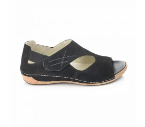 Waldlaufer - Bailey Black Nubuck Sport