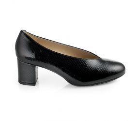 D'Chicas - Black Bamba Leather Pump