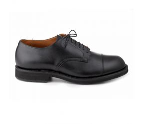 Alden - Black Leather Straight Tip Oxford
