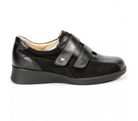 Finn Comfort - Nairobi Black Leather/Nubuck