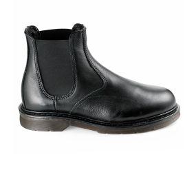 Valleverde - Black Leather Chelsea Boot