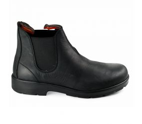 Valleverde - Black Leather Cheslea Boot