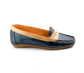 Tape - Aguda Navy Patent Loafer