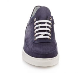 Tape - Almada Navy Nubuck Oxford