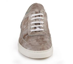 Tape - Almada Taupe Washed Oxford