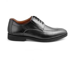 Weber Schuh - Black Leather Panel Toe Oxford