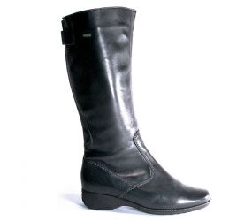 Ara - Leslie Black Leather GTX Tall Boot