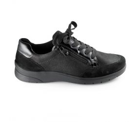 Ara - Sloane Black Lace/Zip Oxford