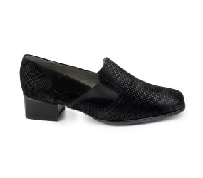 Ara - Grace Black PuntiKid Pump