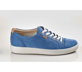 Ecco - Women's Soft 7 Sneaker Retro Blue