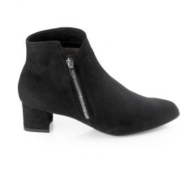 BeautiFeel - Alexa Black Suede Boot