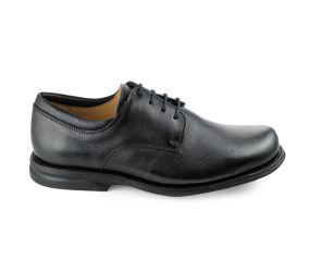 Gaivota - Black Dress Leather Plain Toe
