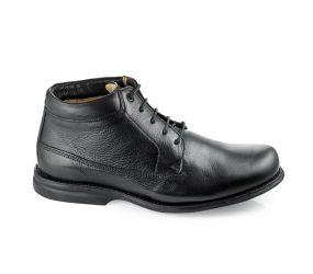 Gaivota - Black Leather Chukka Boot