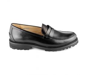 Christian Dietz - Bolzano Black Leather Loafer