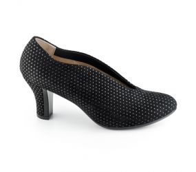 BeautiFeel - Calla Black 3D Puntino Suede