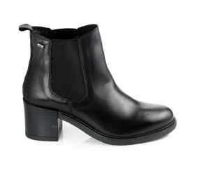 Valleverde - Black Heeled Chelsea Boot
