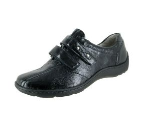 Waldlaufer Joy Black Patent Velcro