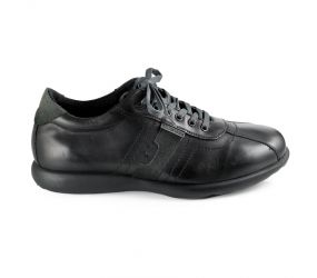 Valleverde - Black Leather Bowler Oxford