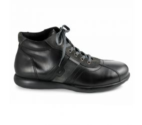 Valleverde - Black Leather Chukka Boot