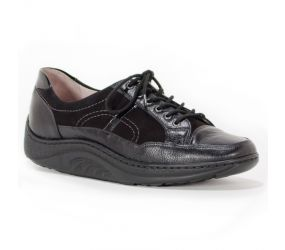 Waldlaufer - Bliss Black Combi Oxford