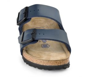 Birkenstock - Arizona Soft-Footbed Navy Birko-Flor