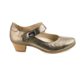 J. Metayer - Diolo Bronze Leather MJ Pump