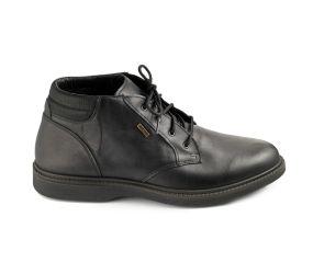 Valleverde - Black Leather Waterproof Chukka V1
