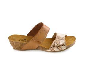 J. Metayer - Melzo Cognac Python Sandal