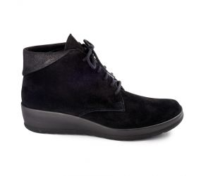 Christian Dietz - Alassio Black Suede/Points Chukka