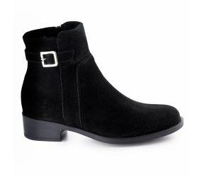 La Canadienne - Shelby Black Suede Boot