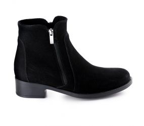 La Canadienne - Sydney Black Suede Boot