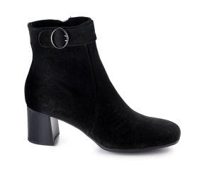 La Canadienne - Janine Black Suede Boot