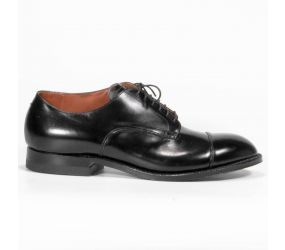 Alden - Black Cap Toe Modified