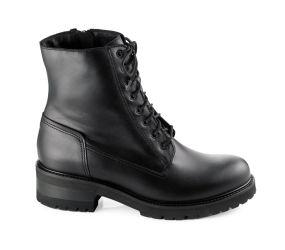La Canadienne - Caterina Black Leather Boot