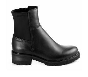 La Canadienne - Callista Black Leather Boot