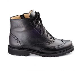 Christian Dietz - Bolzano Black Wing Tip Boot