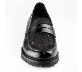 Christian Dietz - Bolzano Black Combi Slip On