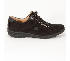 Hartjes - XS Casual Black Nubuck Oxford