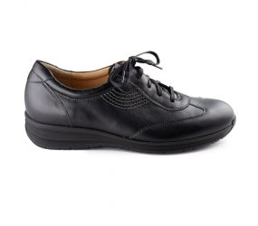 Durea - Black Leather Oxford