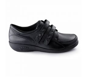 New Feet - Velcro Black Stretch