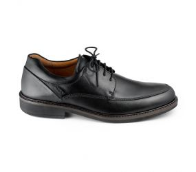 Ecco Holton Apron Toe Tie Black
