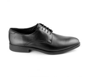 Ecco - Melbourne Black Plain Toe Tie